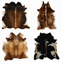 Four rugs from animal skins 05
