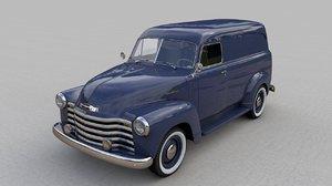 chevrolet 3100 panel truck 3D model