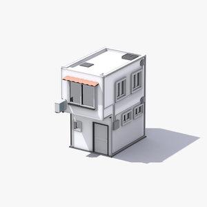 stylized shop games model
