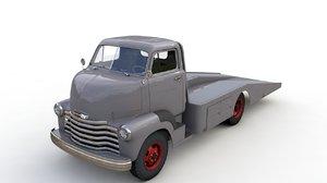 3D model chevrolet coe tow truck