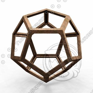 3D dodecaedron epipedon cenon