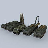 Iskander-M battery
