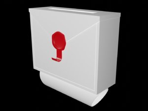 mailbox box envelope model