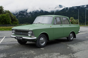 izh moskvich-412ie 1967 3D model