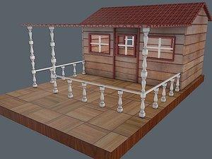 wendy house 3D model