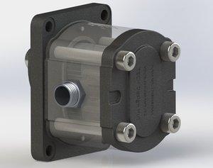 hydraulic pumps 3D model
