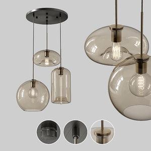 3D lampatron vilmo trio model