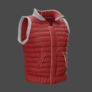 vest character 3D model