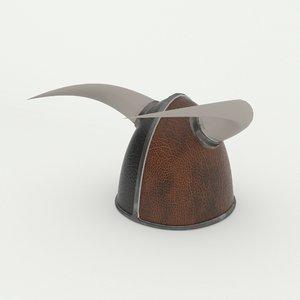 3D model viking helmet