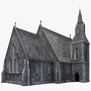 old church 3D model