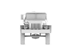 ural-4320 transport 3D