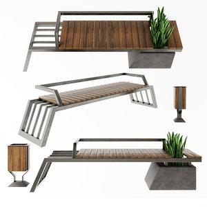exterior set 2 3D model