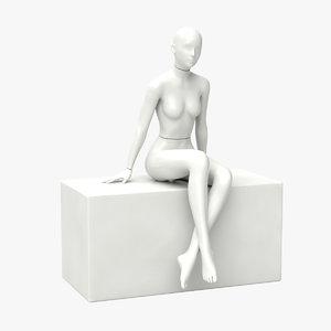 female mannequin 3D
