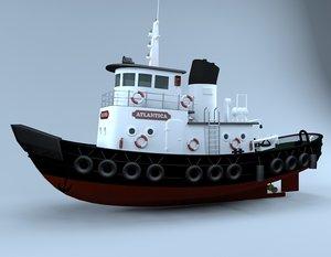 3D fish boat
