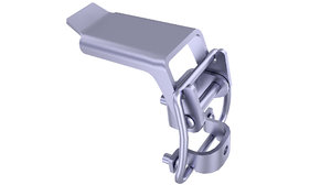 3D clamp clasp