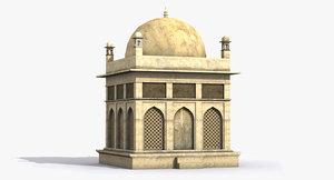 3D architecture house building model