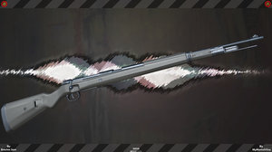 mauser fps weapon 3D model