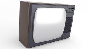 3D tv old retro