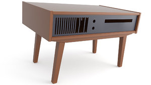 table tv gramophone model