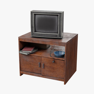 3D old tv