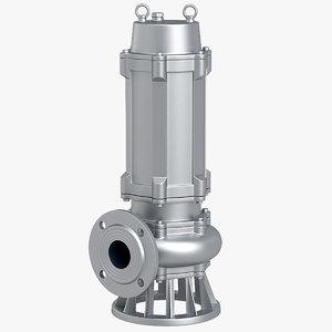 3D submersible pump