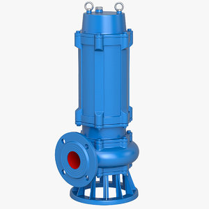 submersible pump 3D