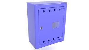 3D gas cabinet cabin