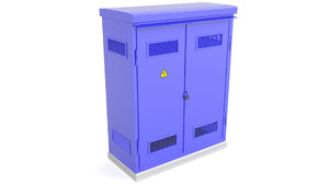 3D electrical cabinet cabin