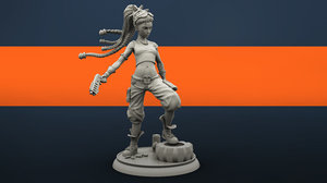 molly character 3D