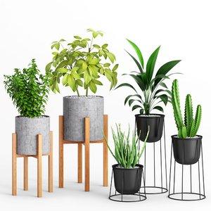west planters 2 indoor 3D