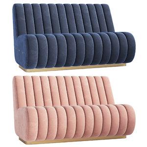sophia sofa essential home 3D model