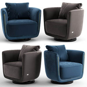 armchair chair 3D model