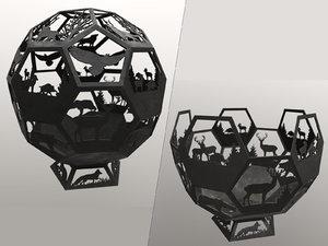 3D animation metallness