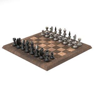 3D chessman v2