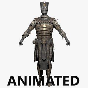 mummy zombie 3D model