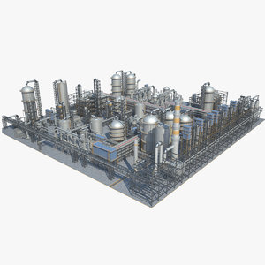 3D industrial area 10