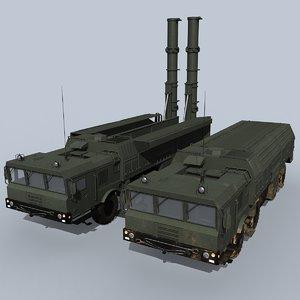iskander-k iskander 3D model