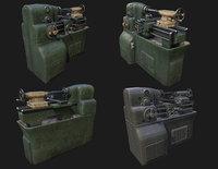 Lathe Machine WWII