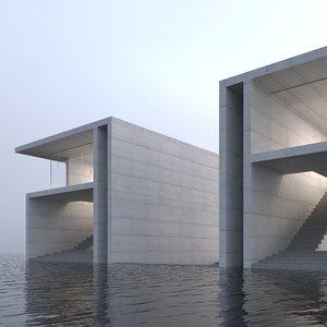 ocean house 3D