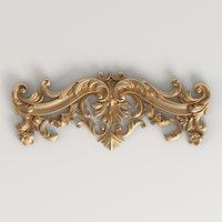 3D model of carved decor | Ng_057