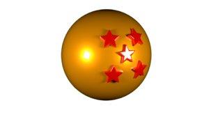 star dragonball 3D model