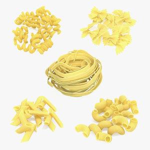 italian pasta 3 3D model