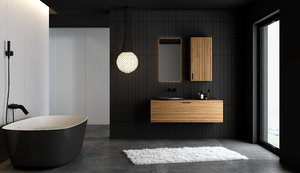 minimalist interior bathroom 3D model