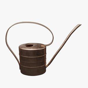 copper watering 3D model