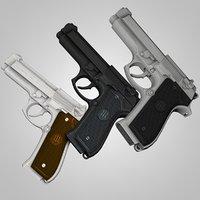 Beretta 92fs Handgun Semi-Automatic