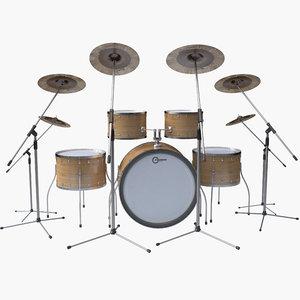 3D drum set