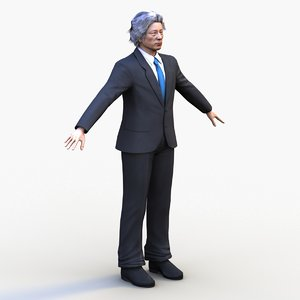 junichiro koizumi 3D model