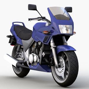 japanese motorcycle 0001 model