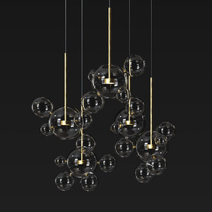 3D suspension light giopato coombes model
