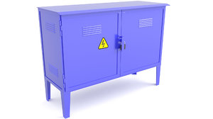 electrical cabinet cabin model
